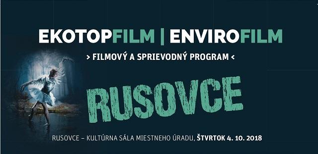 EKOTOPFILM / ENVIROFILM v Rusovciach  4.10.2018